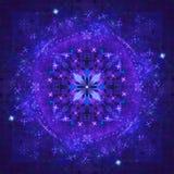 Blue  fractal Royalty Free Stock Photo