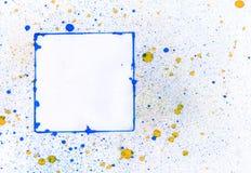 Blue frame. An illustration of a frame Stock Photos
