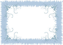 Blue frame Stock Images