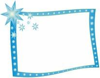 Blue Frame Royalty Free Stock Photo