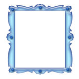 Blue frame Stock Images