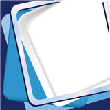 Blue frame background Royalty Free Stock Photography