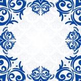 Blue frame/border Stock Image