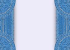 Blue frame Stock Photos