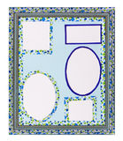 Blue Frame Royalty Free Stock Image