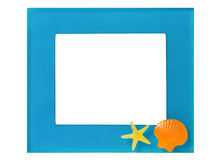 Blue frame Stock Photography
