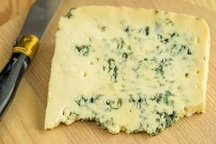 Blue french cheese Stock Image