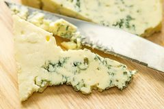 Blue french cheese Royalty Free Stock Photo