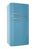 Blue fridge Stock Photos