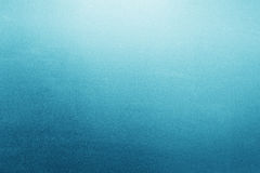 Blue frosted glass background, texture Royalty Free Stock Photography