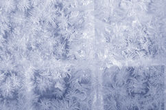 Blue frosted glass Royalty Free Stock Photos