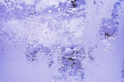 Blue frosted glass Royalty Free Stock Image