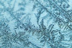 Blue frozen  background Stock Photo