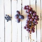 Blue fruits photo Stock Images