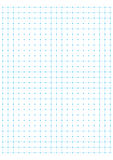 Blue full page centimeter Dot Paper vector Royalty Free Stock Photos