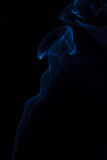 Blue fume Royalty Free Stock Photography