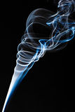 Blue fume Stock Photography