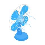 Blue fun icon, isometric 3d style Stock Photo