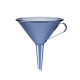 Blue funnel Royalty Free Stock Photos