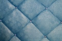 Blue furniture. Picture of a blue furniture Royalty Free Stock Image