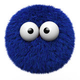 Blue furr ball Stock Photography