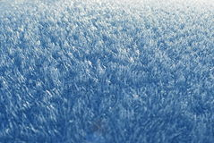 Blue furry ice Royalty Free Stock Photos