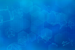 Blue futuristic background vector illustration