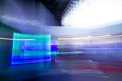 Blue futuristic desktop background Royalty Free Stock Photo