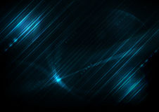 Blue futuristic english code abstract  backgrounds Stock Photography