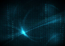 Blue futuristic english code abstract  backgrounds.  Royalty Free Stock Image