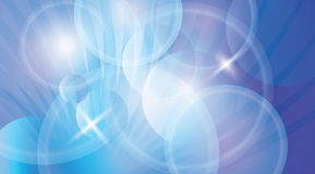 Blue futuristic vector backdrop Royalty Free Stock Photography