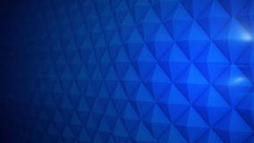 Blue futuristic wall 3D render. Blue futuristic wall. Abstract 3D rendering background Royalty Free Stock Photos