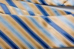 blue görad randig tie Royaltyfri Foto
