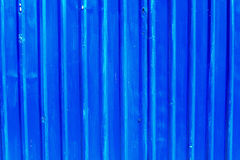 Blue galvanized metal Stock Images