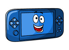Blue game console Royalty Free Stock Images