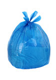 Blue garbage ba Stock Photography