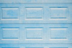 Blue gate detail Stock Photography