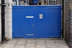 Blue Gate stock photos