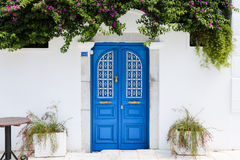 Free Blue Gate Of A House In Bodrum, Turkey Royalty Free Stock Photos - 79588688