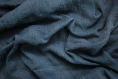 Blue gauze background stock image