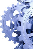 Blue gear Royalty Free Stock Photos