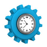 Blue Gear Watch Royalty Free Stock Photo