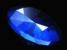 Blue gem Stock Photo