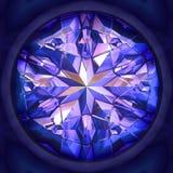 Blue gem Royalty Free Stock Photography