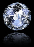 Blue gem stone Royalty Free Stock Photo