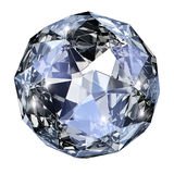 Blue gem stone Royalty Free Stock Images