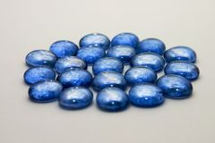 Blue gems Royalty Free Stock Photography