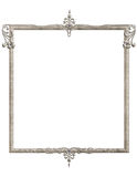Blue Gemstone Victorian Frame Royalty Free Stock Photos