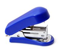 Blue generic stapler Stock Image