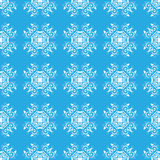 Blue gentle seamless pattern Royalty Free Stock Photo